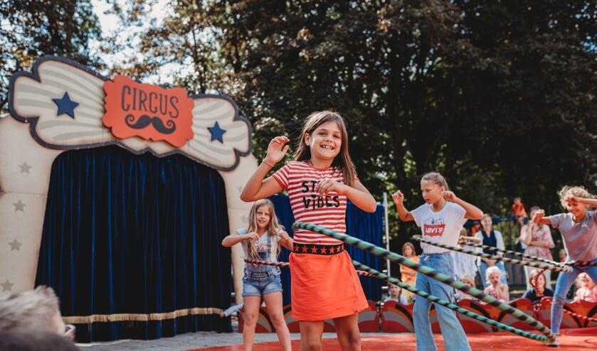 Start van een nieuw schooljaar met Circus De Kievit.