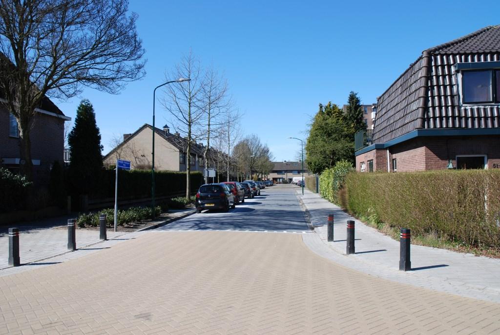 Ter plaatse van de oprit kwam de Prof. Dr. Tinbergenweg (foto Hist. Kring 'dOudeSchool).  © De Vierklank