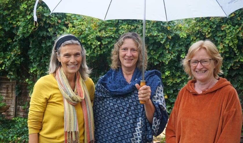 V.l.n.r. Marieke van Nimwegen, Rianne Smit en Annie Naber.