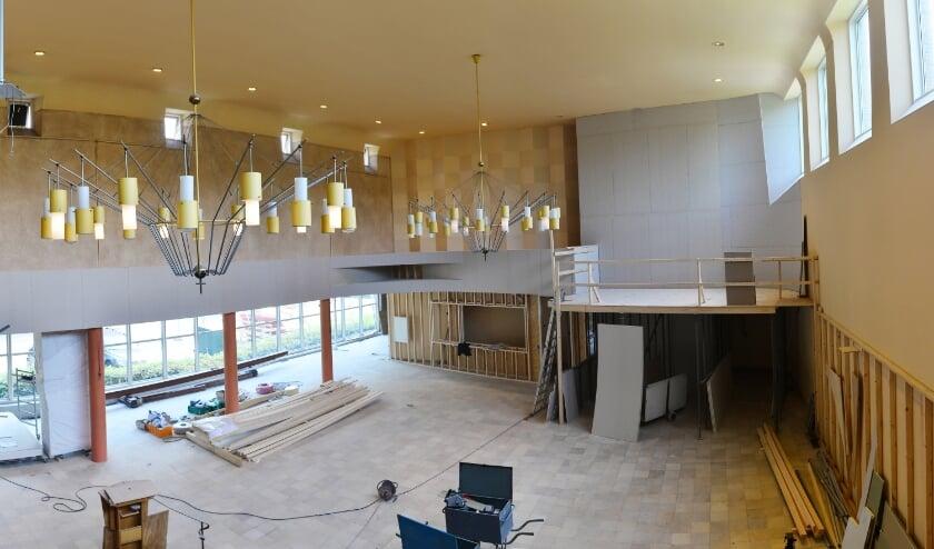 Nieuw interieur Oosterlichtkerk krijgt vorm