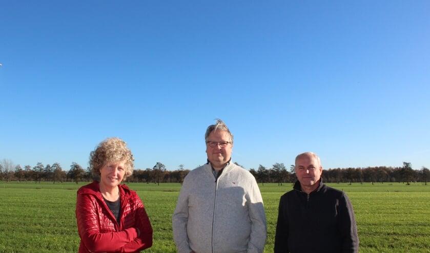 <p><em>Het bestuur: v.l.n.r. Barbara Majoor, Sander Maatman en Dick Gladpootjes.</em></p>