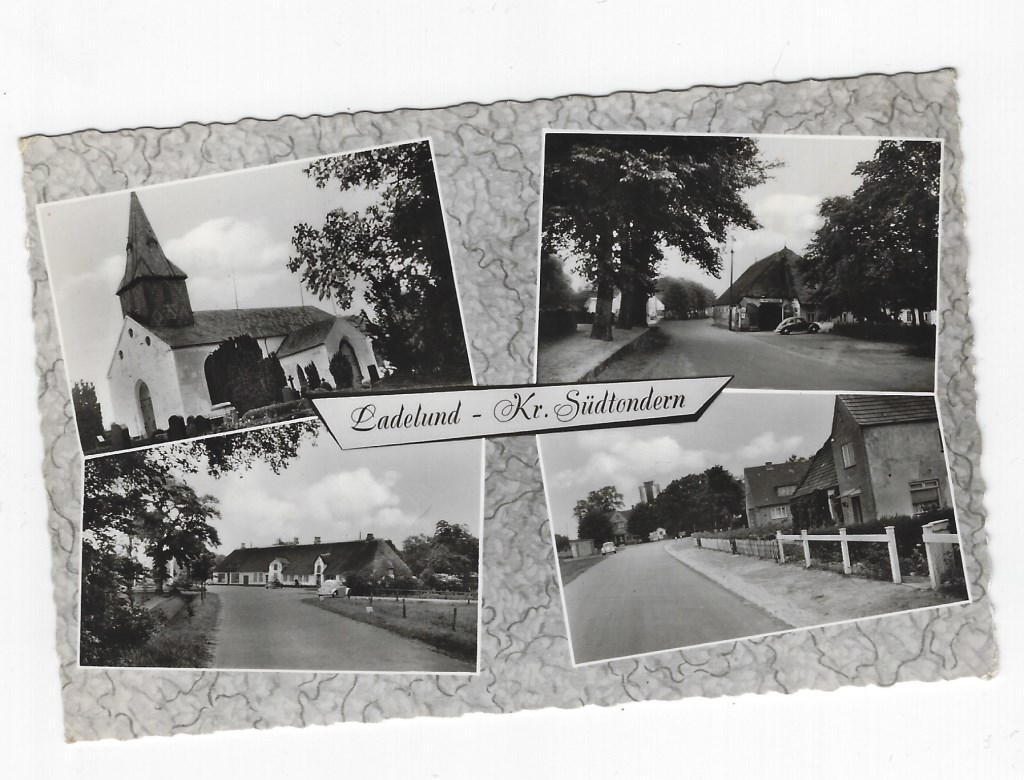 Het dorpje Ladelund (ansicht).  © De Vierklank