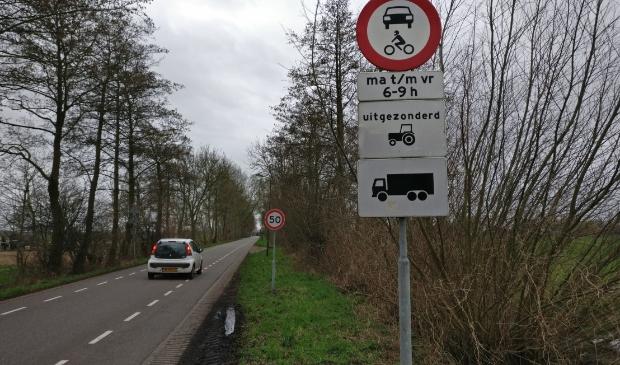Ook op de Korssesteeg richting Westbroek is 'het piano aan gaan'. Foto:  © De Vierklank
