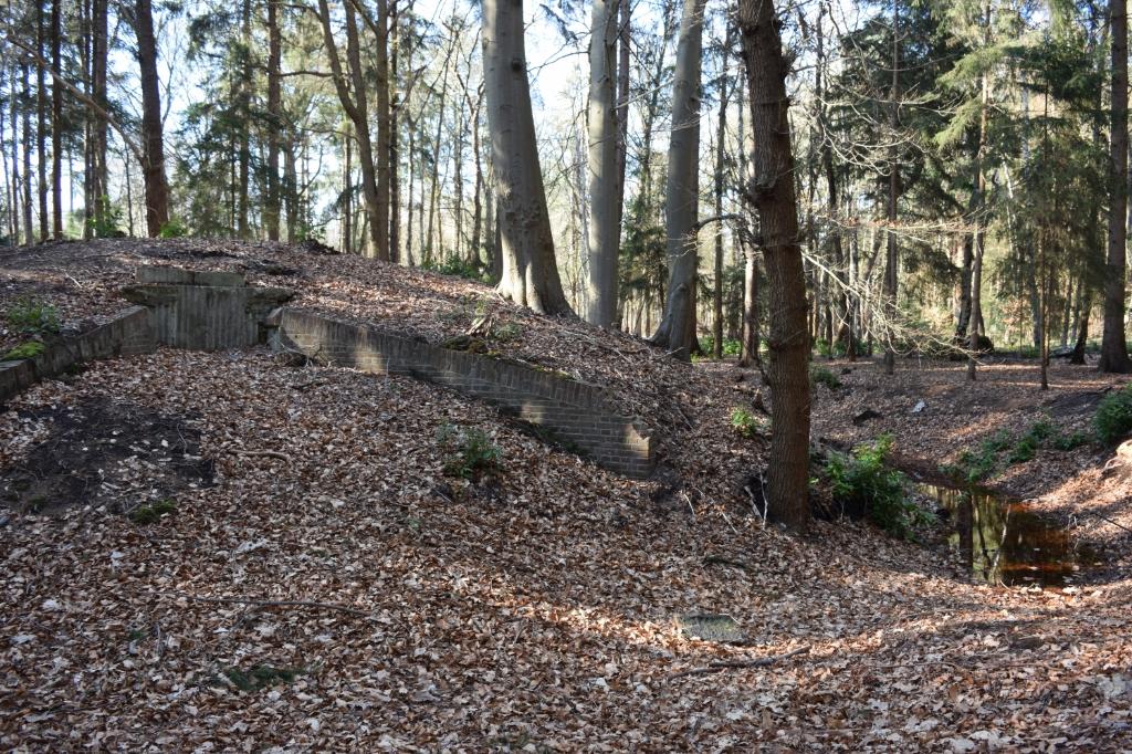 De grafkelder van de voormalige eigenaars van het landgoed, de familie Eyck. Foto:  © De Vierklank