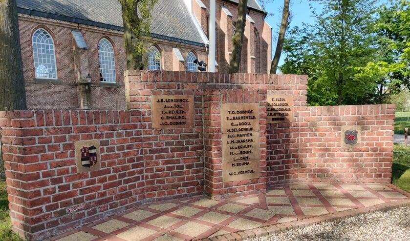 Het oorlogsmonument van Westbroek herdenkt 20 inwoners die zijn omgekomen in de Tweede Wereldoorlog. Negen inwoners stierven op Bevrijdingsdag.