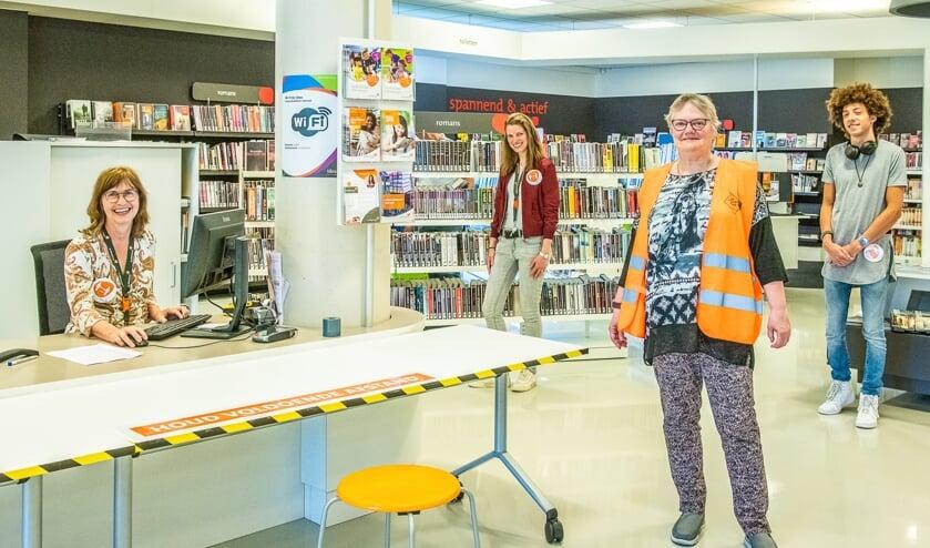 Bibliotheek Bilthoven is ingericht voor de 1,5 meter samenlevering.