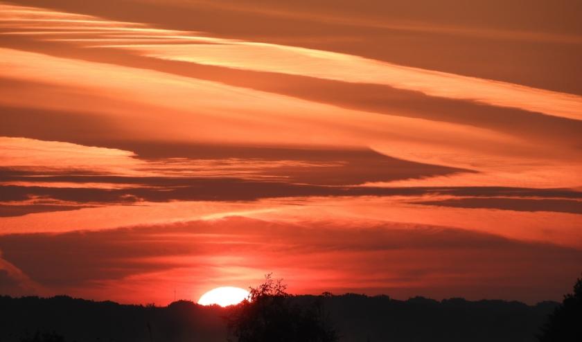 Zonsopgang boven Westbroekse Zodden
