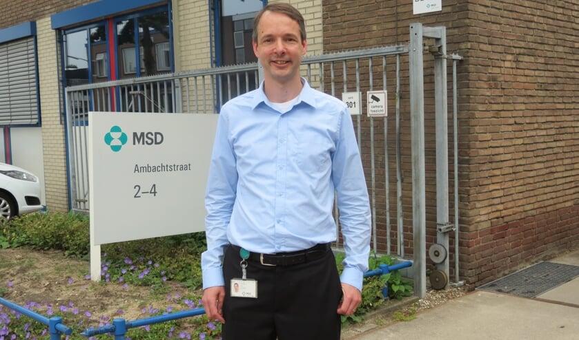 Locatiemanager Arjen Vermolen van MSD Animal Health De Bilt.