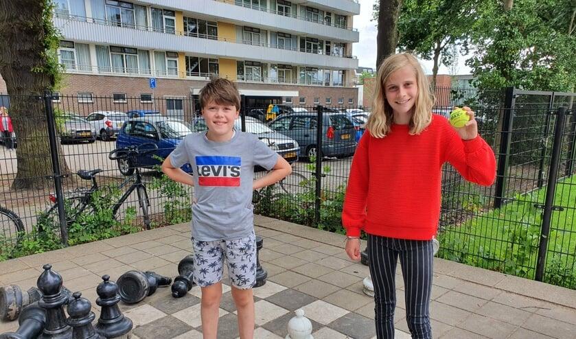 Mees en Milou blinken beide uit in sport.