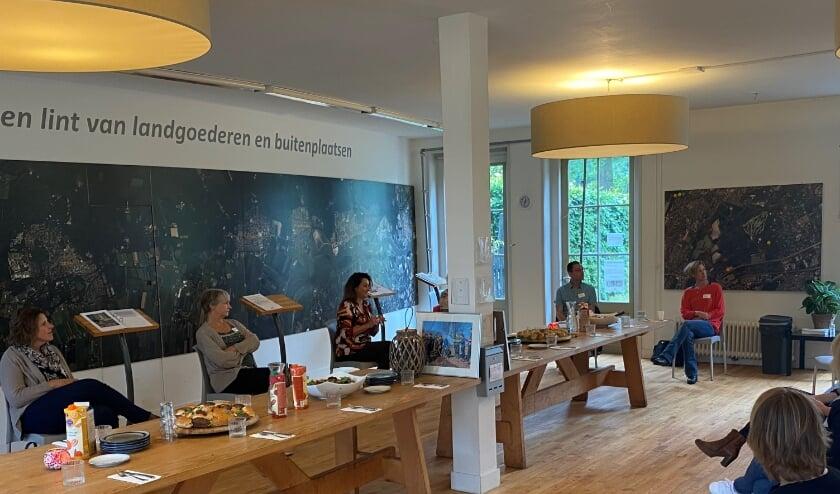 Lunch in paviljoen Beerschoten.