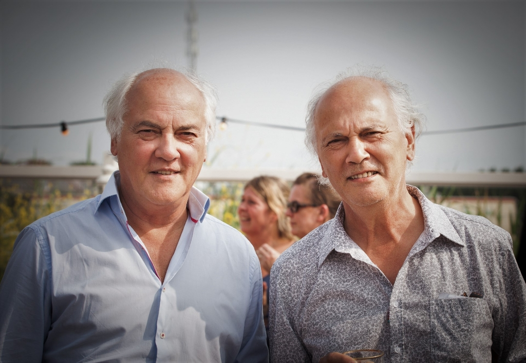 V.l.n.r. Jan en Henk van Stipriaan Foto:  © De Vierklank