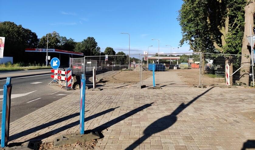De faunatunnel komt onder de N237 in De Bilt, ter hoogte van Utrechtseweg 351.