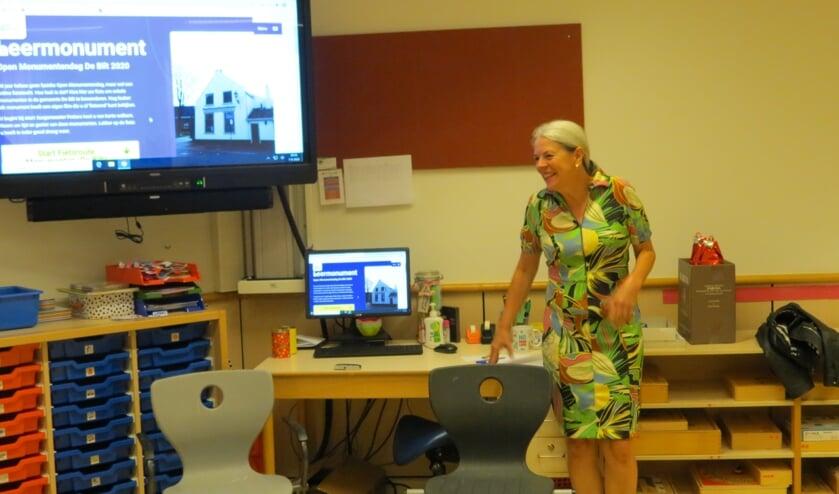 Margareth  Broek bedacht het idee voor een virtuele fietstocht.