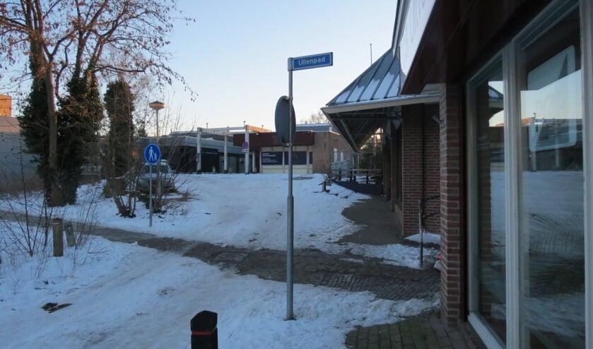 Het Uilenpad dat toegang geeft tot De Kwinkelier.