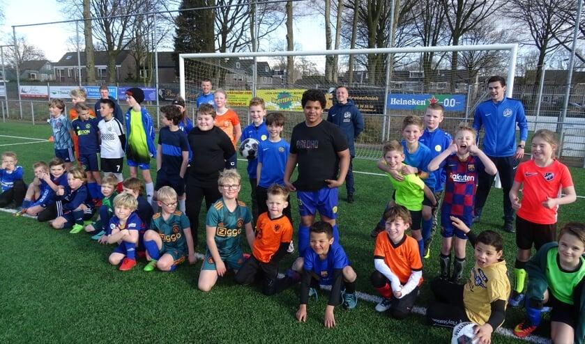 40 enthousiaste jeugdleden van SVM uit Maartensdijk genoten van een lange trainingsdag.