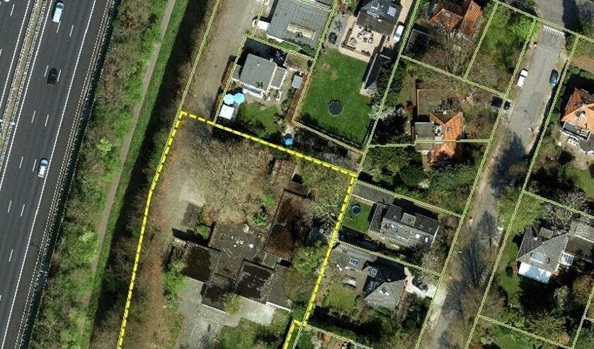 <p><em>Een luchtfoto van het gebied. (foto gemeente De Bilt)</em></p>