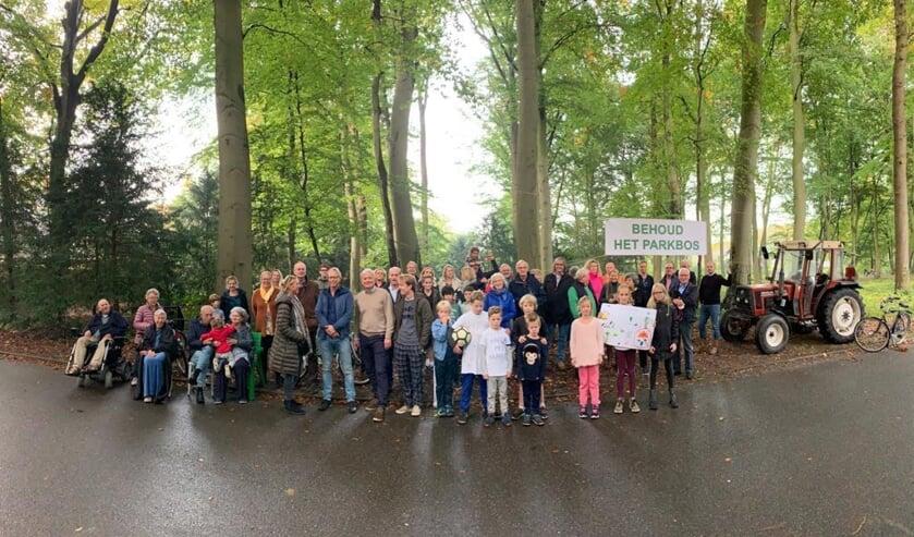 <p>Groenekan protesteerde in oktober 2019 tegen de geopperde bouwlocatie. (foto Eug&egrave;ne Broecheler)</p>