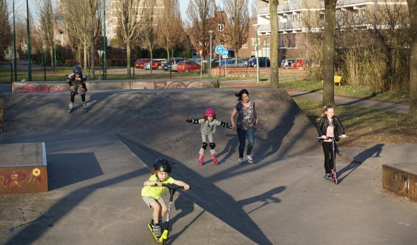 Spelplezier op de skatebaan