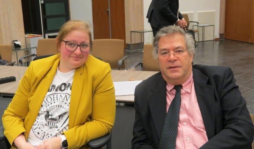 De fractie van Forza De Bilt, Kristel Brekelmans en Peter Schlamilch.