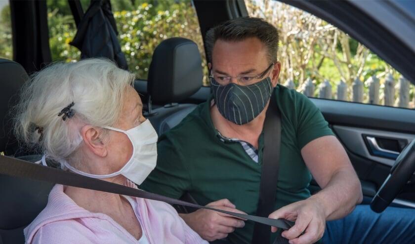 Met een chauffeur van UWassistent kan iedereen weer op pad.