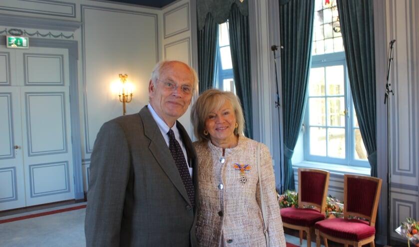 Mevr. Visser - Bilardo en haar echtgenoot