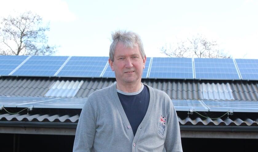 Kees Mudde ziet meer in 'zon-op-dak'-energie, zoals dit participatieproject i.s.m. Biltstroom en Beng! bij Zorgboerderij Toutenburg in Maartensdijk.