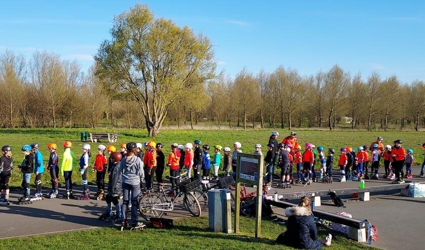 Skeeleren in Noorderveld.