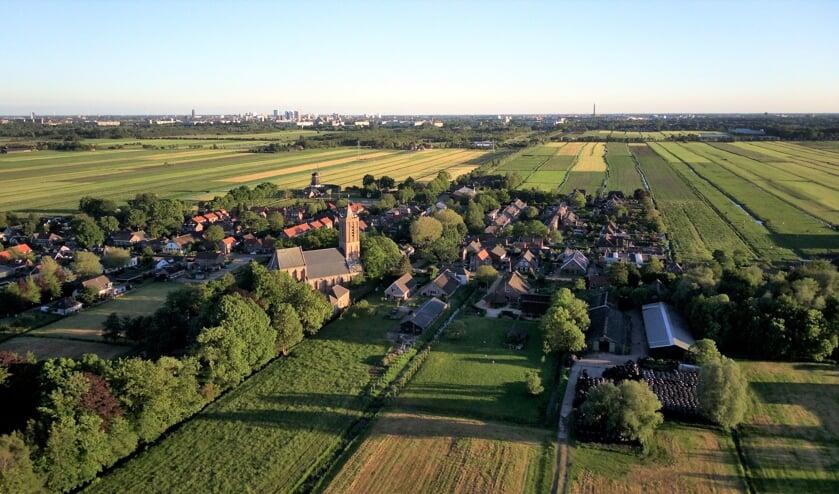 Ook voor de kern Westbroek wordt een omgevingsvisie opgesteld/ (foto Arne Scholten)