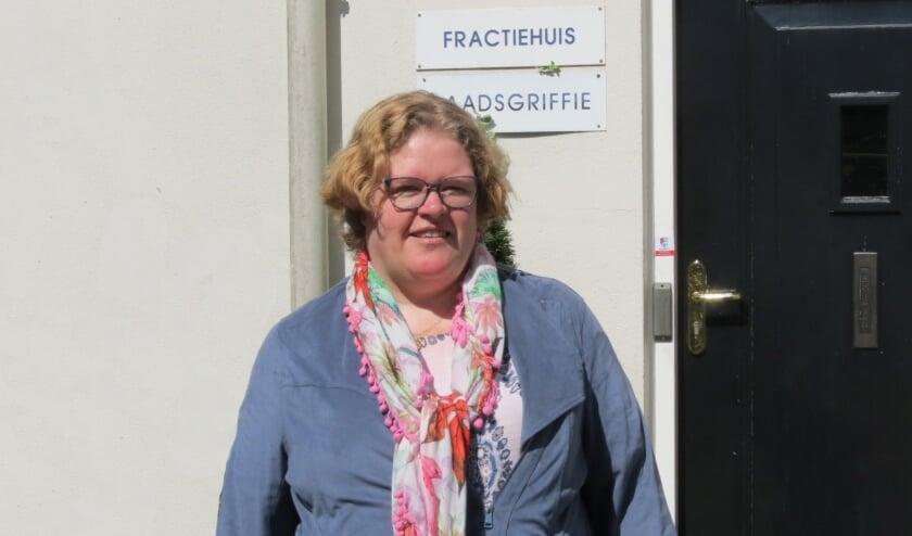 Donja Hoevers is nu fractievoorzitter voor D66 in de gemeenteraad van De Bilt. [foto Guus Geebel]
