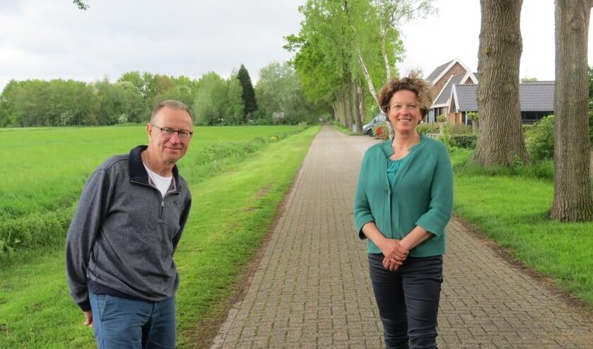 Redactieteamleden Jan Dijkkamp en Petra den Dulk.