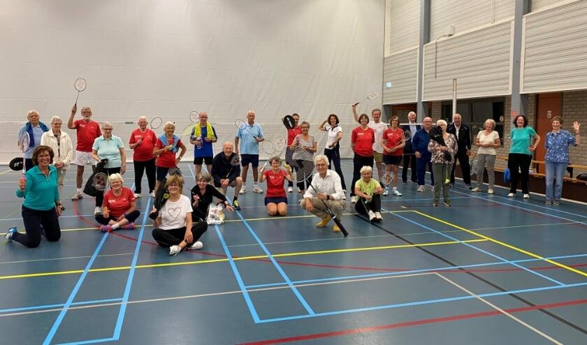 Einde badmintonseizoen