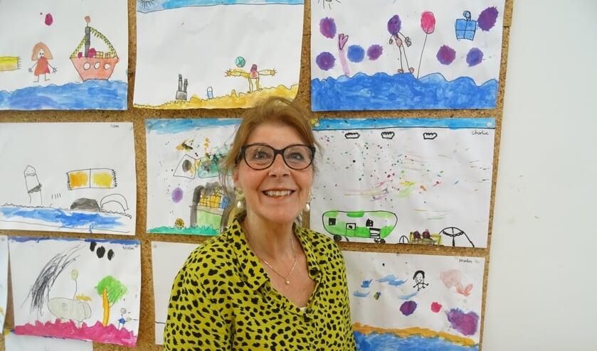 Juf Marianne blijft nog als vrijwilliger aan De Nijepoort verbonden.