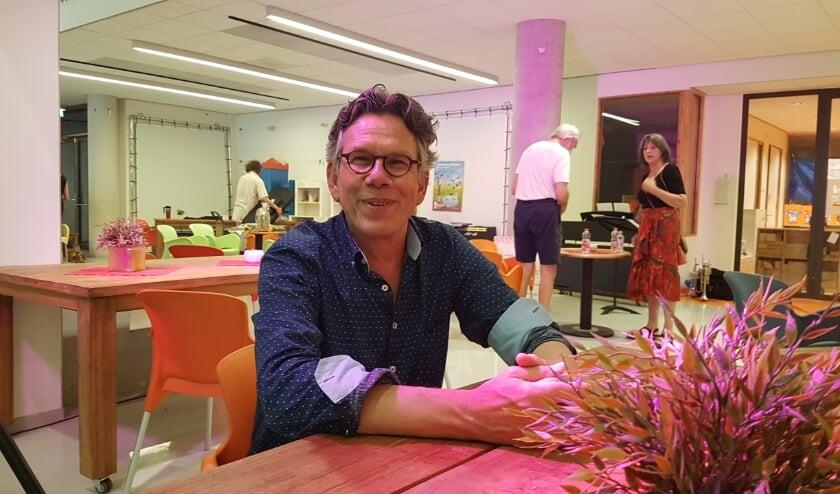 Directeur Rob Schouw verheugt zich op een corona-vrij seizoen in het Kunstenhuis.