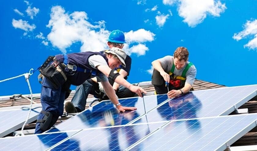 Aanschaf van zonnepanelen kan via de gemeente met korting.