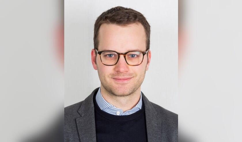 <p>Martijn Huysmans werd ge&iuml;nstalleerd als commissielid voor D66.</p>