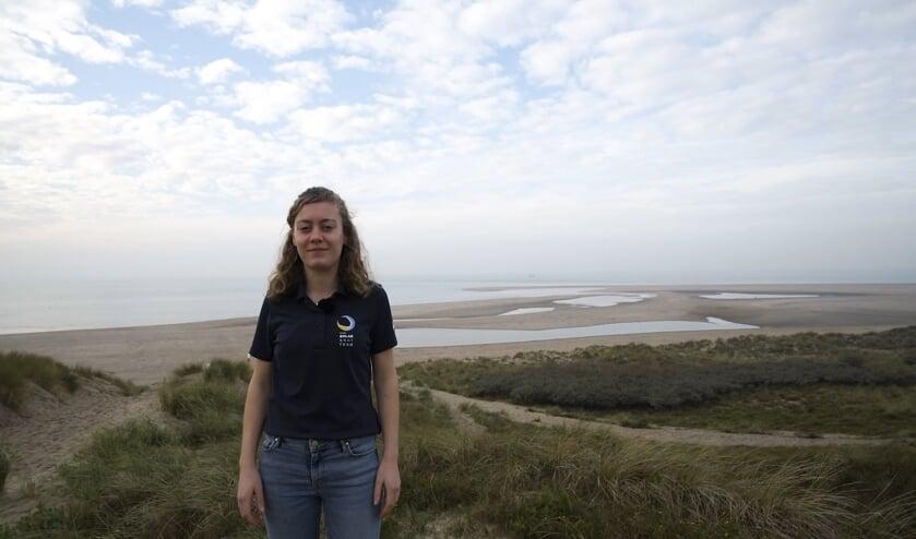 Simone Vis, Team Manager van het TU Delft Solar Boat Team.