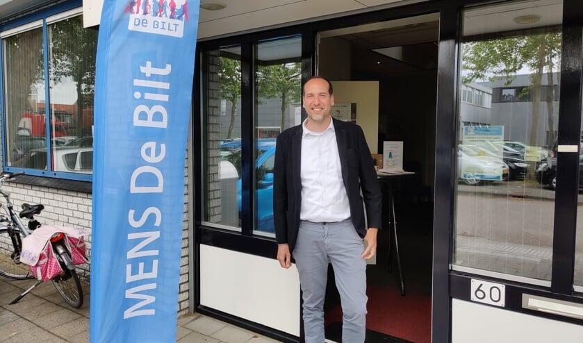 Frank van der Jagt bij Mens aan de Molenkamp in De Bilt.