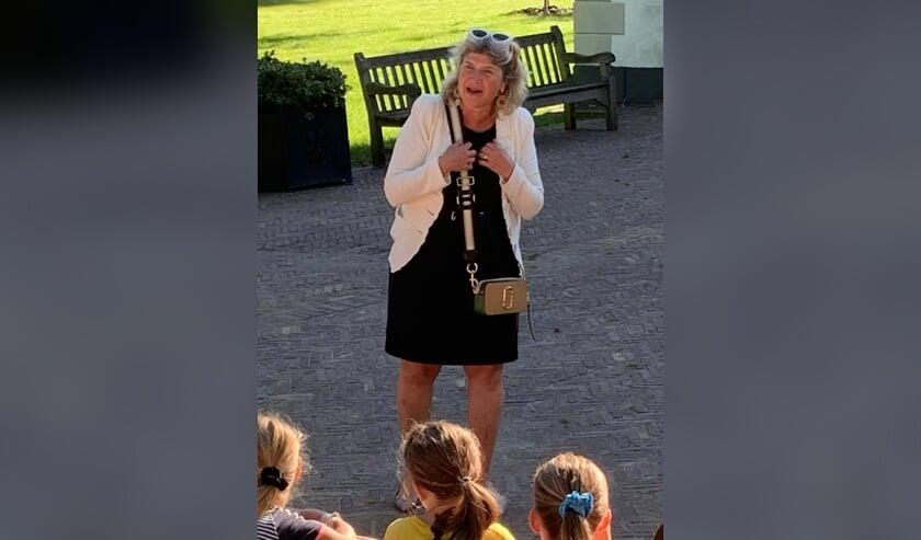 <p>Het schollenproject werd geopend op 8 september door wethouder Madeleine Bakker. (foto Ella Prins)</p>