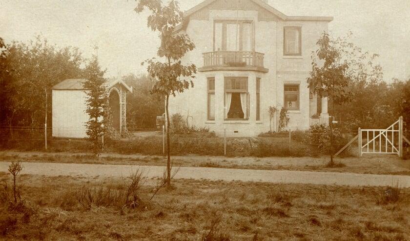 Villa 'Aletta' in de beginperiode. (fotoverzameling Historische Kring De Bilt)