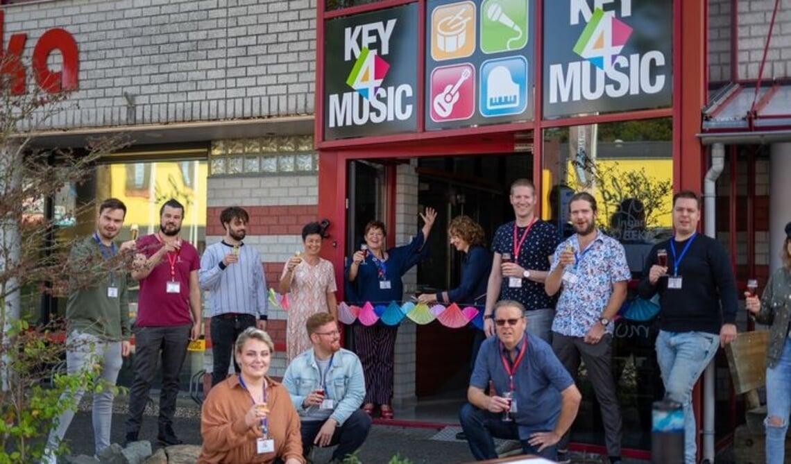 <p>de feestelijke opening van Key4Music in Oirschot</p>