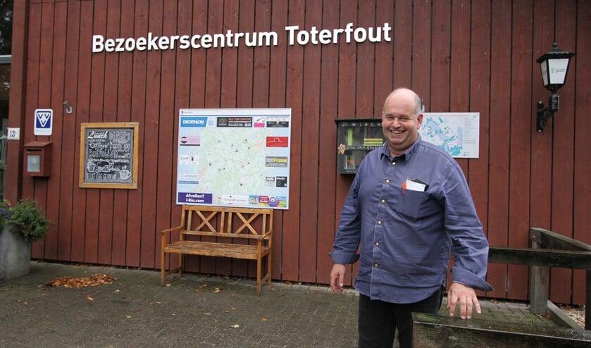 Het idee van een bezoekerscentrum naast de geitenboerderij, komt onder andere van Christ en Marleen Schippers, in 2007. FOTO: Ad Adriaans.