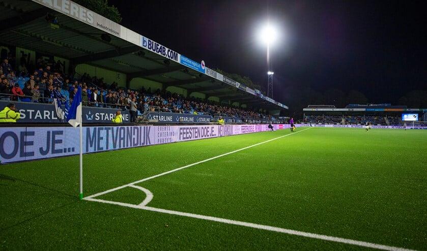 FC Eindhoven maakt zich op voor de wedstr4ijd tegen Top Oss.