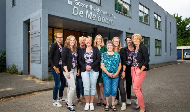 Het team van Apotheek Veluwelaan.