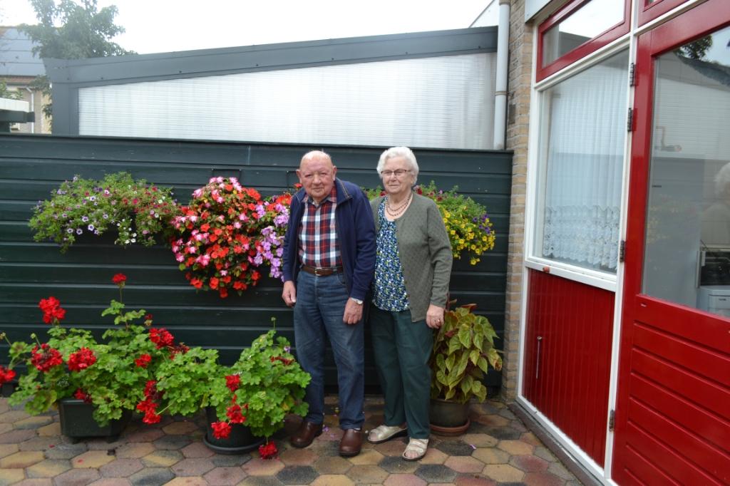 <p>Het echtpaar Pater-Tichie is vandaag 65 jaar getrouwd. </p> <p>Eigen foto</p> © De Veluwe Koerier
