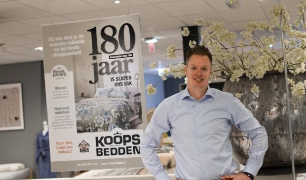 Ente Bosma jr. is trots op het 180-jarig bestaan van het familiebedrijf.