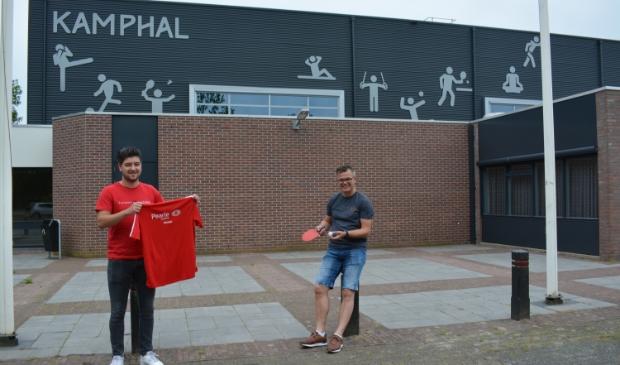 Eljakim Doorneweerd en Emile Mensink van TTV Pearle Wezep.