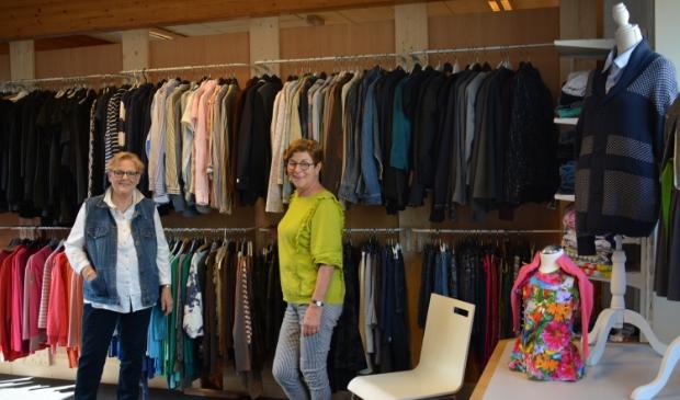 De Paskamer biedt veel keus in gebruikte kleding.