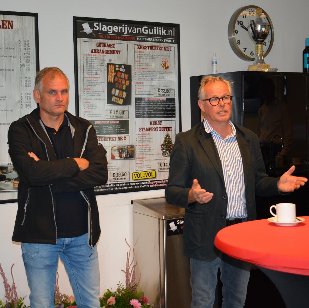 Rutger Hoekert en Bert Rietberg  © De Veluwe Koerier