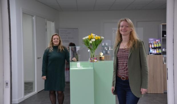 <p>&nbsp;Helma en Linda van HoorCentrum Wezep.&nbsp;</p>
