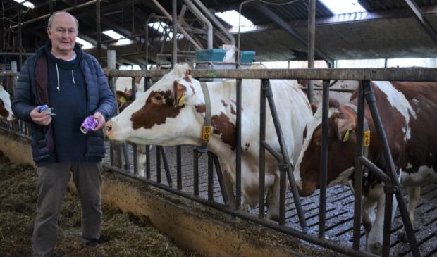 Van blikscherven gaan koeien dood.
